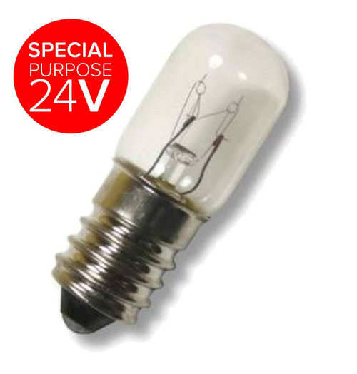 16x48mm 24V Miniature E14 5W XLV24V5WE14 Special purpose 24V