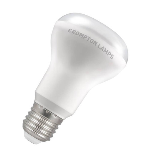 Crompton Lamps LED 8W R63/R64 Reflector E27 Warm White 110° Opal Image 1