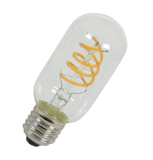 Lyyt LED Spiral Filament Tubular T45 5W E27 Dimmable Extra Warm White Image 1