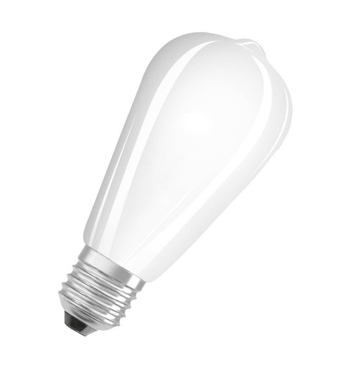 Osram LED ST64 4.5W E27 Parathom Filament Warm White Frosted Image 1
