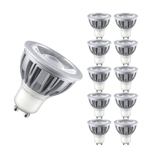 Crompton LED GU10 5W 6000K LGU105DLCOB Image 1
