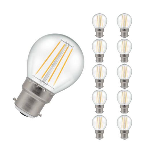 Crompton LED Golfball B22 5W Dim 2700K 7215 Image 1
