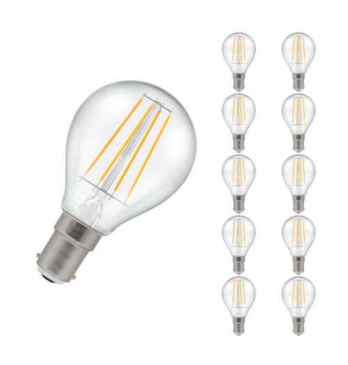Crompton LED Golfball B15 5W Dim 2700K 7222 Image 1