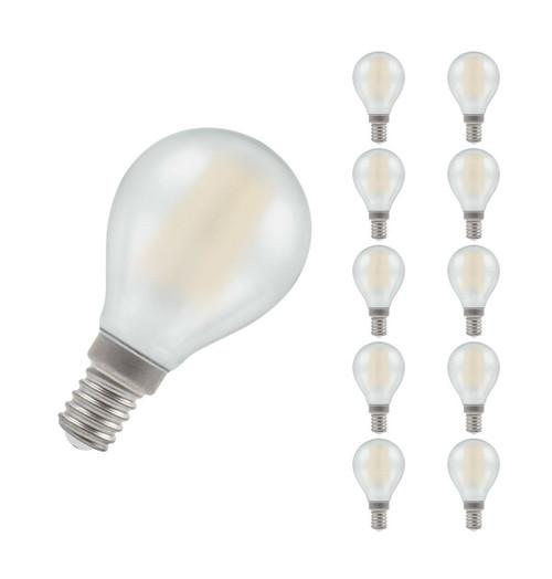 Crompton LED Golfball E14 5W Dim 2700K 7284 Image 1