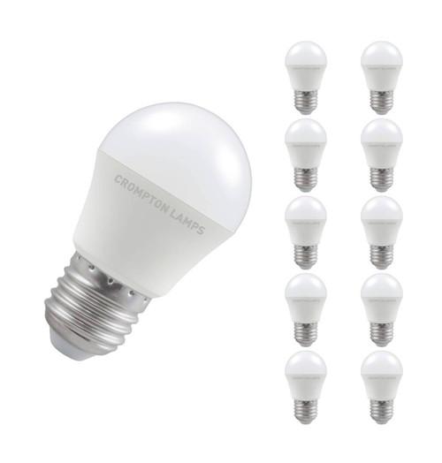 Crompton LED Golfball E27 5.5W 4000K 11540 Image 1