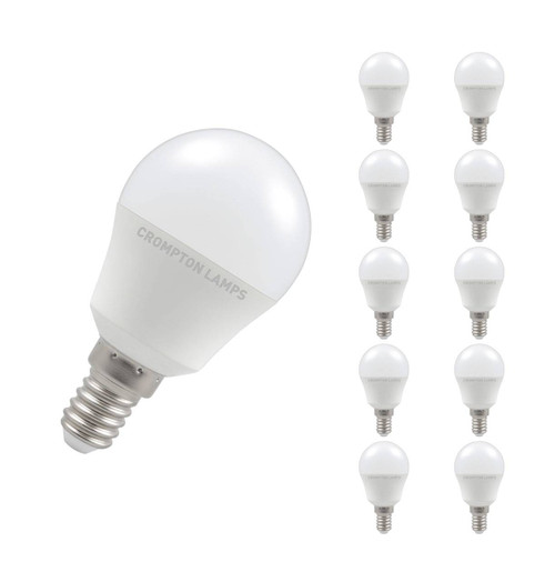 Crompton LED Golfball E14 5.5W 4000K 11557 Image 1