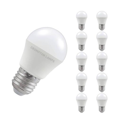 Crompton LED Golfball E27 5.5W 6500K 11571 Image 1