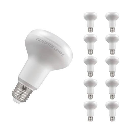 Crompton Lamps LED 10W R80 Reflector E27 Warm White 110° Opal Image 1