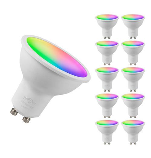 Crompton LED SMART GU10 5W Dim RGB + 2700K 12394 Image 1