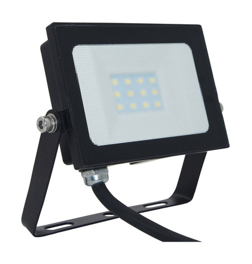 Phoebe LED Floodlight 10W Atlas-Mini Cool White Black IP65 Image 1