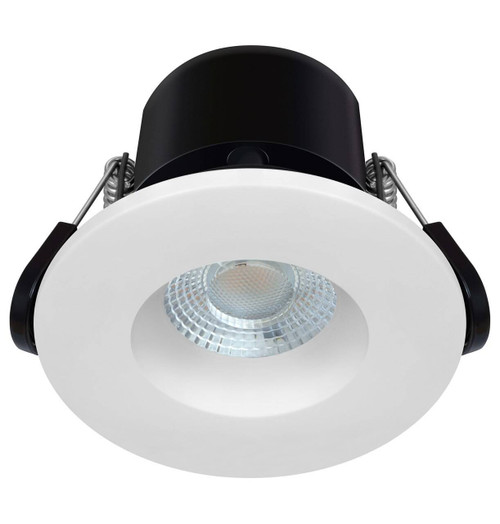 Phoebe LED Fire Rated Downlight 6.7W Dim Firesafe Eco Warm White 60° IP65 Image 1