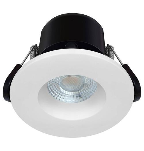 Phoebe LED Fire Rated Downlight 6.7W Dim Firesafe Eco Warm White 60° IP65 Image 1