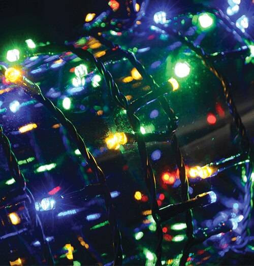 Lyyt 200 Multi-Colour LED Multi-Sequence Fairy Lights 4