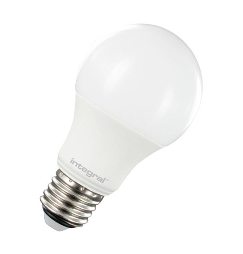 Integral LED GLS 8.5W E27 Dimmable Warm White Frosted ILGLSE27DC021 Image 1
