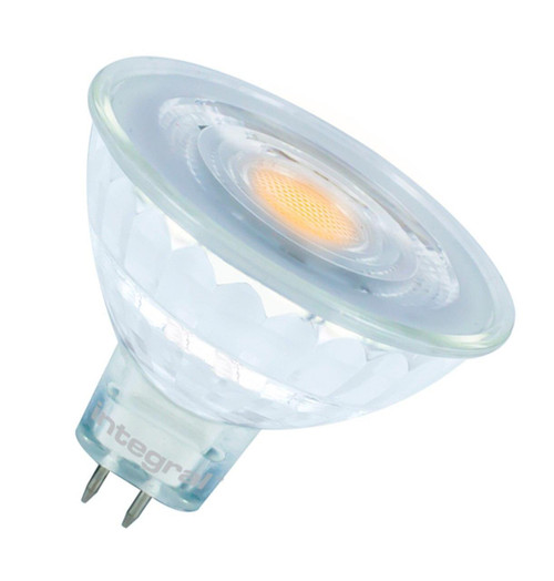 Integral LED MR16 Spotlight 4.8W GU5.3 12V Warm White 36° Clear ILMR16NC029 Image 1