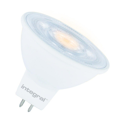 Integral LED MR16 Spotlight 4.6W GU5.3 12V Dimmable Warm White 36° Clear ILMR16DC037 Image 1
