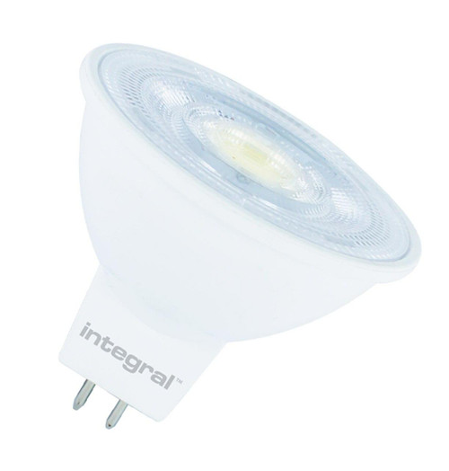 Integral LED MR16 Spotlight 4.6W GU5.3 12V Dimmable Cool White 36° Clear ILMR16DE038 Image 1