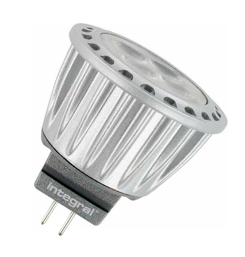 Integral LED MR11 Spotlight 3.7W GU4 12V Cool White 36° Clear ILMR11NE010 Image 1