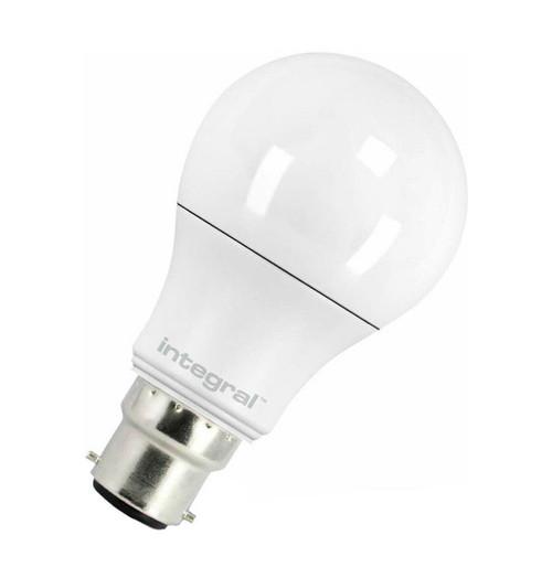 Integral LED GLS 5.5W B22 Warm White Frosted ILA60B22O6.8N27KBEWA Image 1