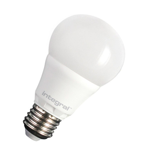 Integral LED GLS 6.6W E27 Dimmable Warm White Frosted ILA60E27O6.6D27KBEWA Image 1