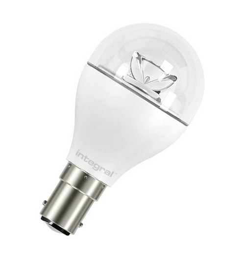 Integral LED Golfball 6W B15 Warm White Clear 75-58-00 Image 1