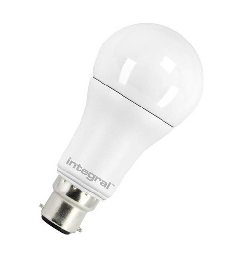 Integral LED GLS 10W B22 Warm White Frosted 20-73-78 Image 1