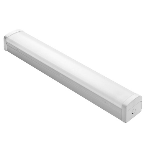 Phoebe LED 4ft Batten 40W Oracle High Output Tri-Colour CCT 120° Diffused White 3-Hour Emergency Image 1