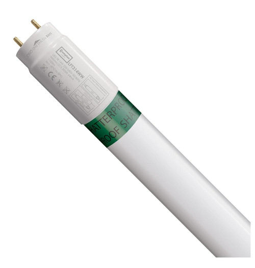 Crompton Lamps LED 3ft T8 Tube 14W Shatterproof Warm White Image 1