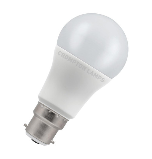 Crompton Lamps LED GLS 11W B22 Dimmable Daylight Opal (75W Eqv) Image 1