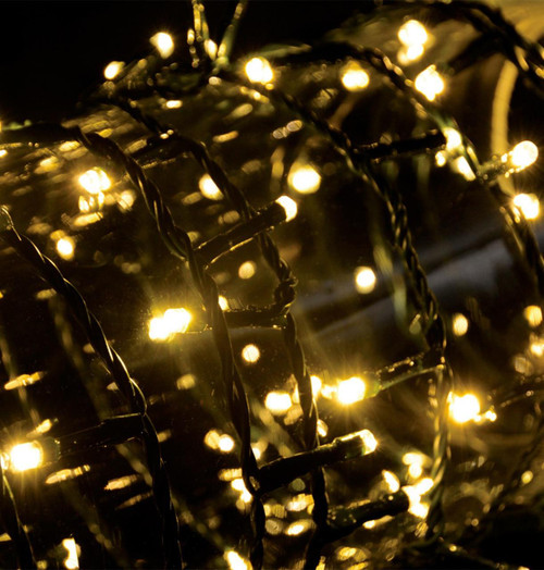 Lyyt LED Outdoor 10M Fairy Lights Multi-Sequence Warm White Image 1