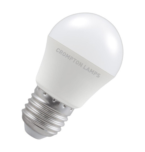 Crompton Lamps LED Golfball 5W E27 Dimmable Cool White Opal (40W Eqv) Image 1