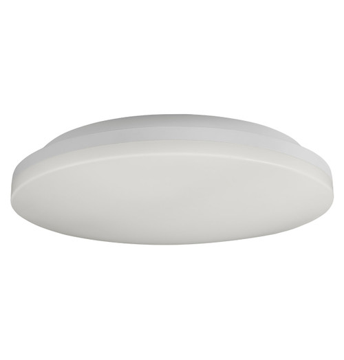 Phoebe LED Bulkhead 12W Savoca CCT 3-Hour Emergency Tri-Colour CCT 120° Diffused White Image 1