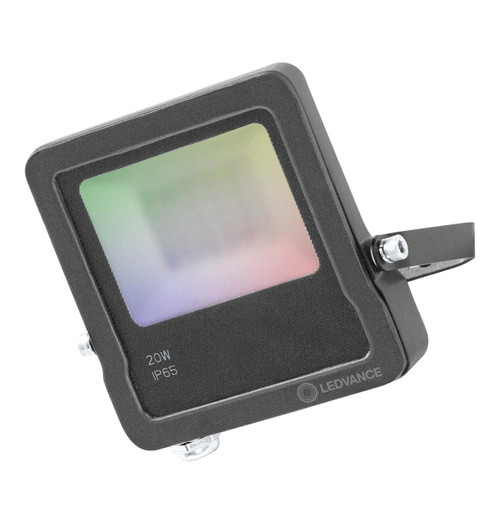 Ledvance 20W SMART+ WiFi Dimmable LED Floodlight Warm White + Multicolour Image 1