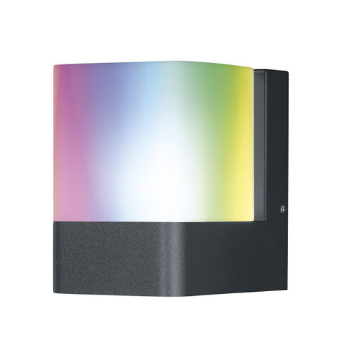 Ledvance 13.5W SMART+ WIFI CUBE wall light Warm White + Multicolour Image 1
