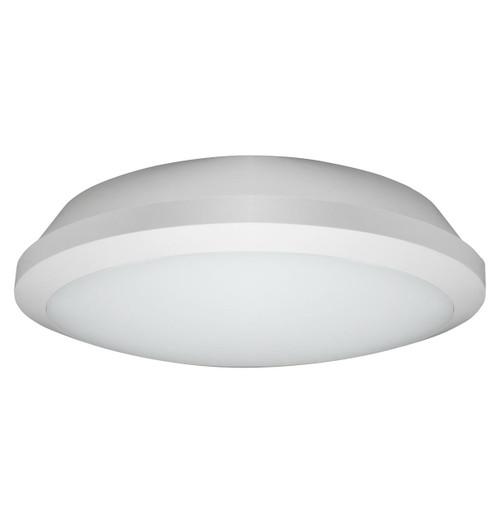 Phoebe LED Bulkhead 15W Melana CCT Tri-Colour CCT 120° Diffused White IP65 Image 1