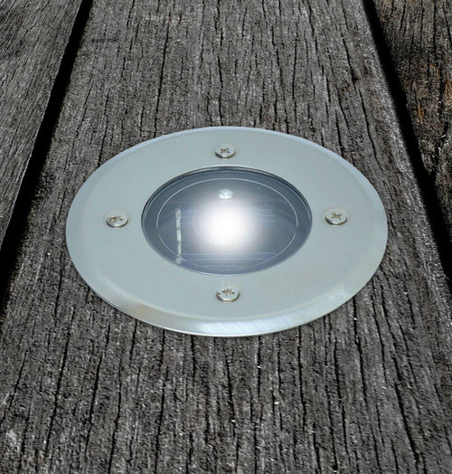 Solalite LED Solar Deck Light White (4 Pack) Image 3