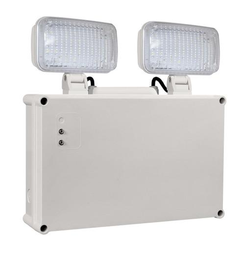 Phoebe LED Emergency Twin Spot 2.3W Krios Daylight Image 1