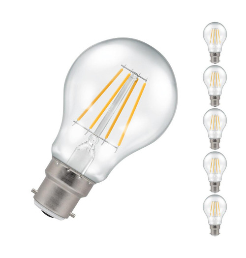Crompton LED GLS B22 5W Dim (5 Pack) 2700K 4184 Image 1