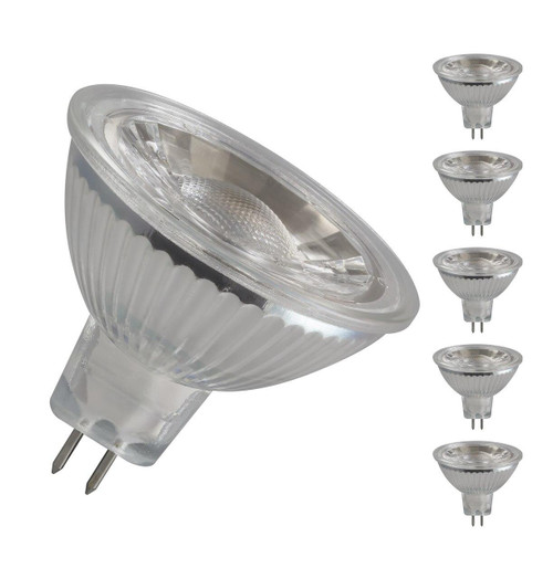 Crompton LED 12V MR16 GU5.3 5W 4000K 3309 Image 1