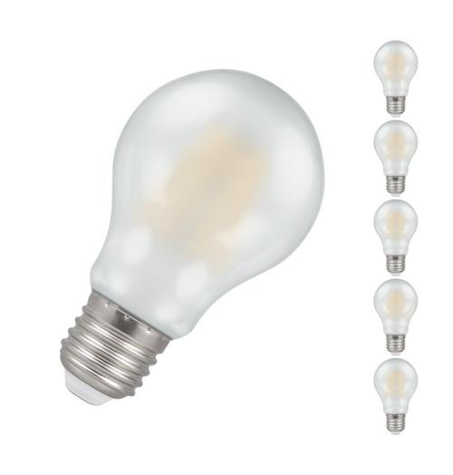 Crompton LED GLS E27 7.5W Dim (5 Pack) 2700K 5969 Image 1