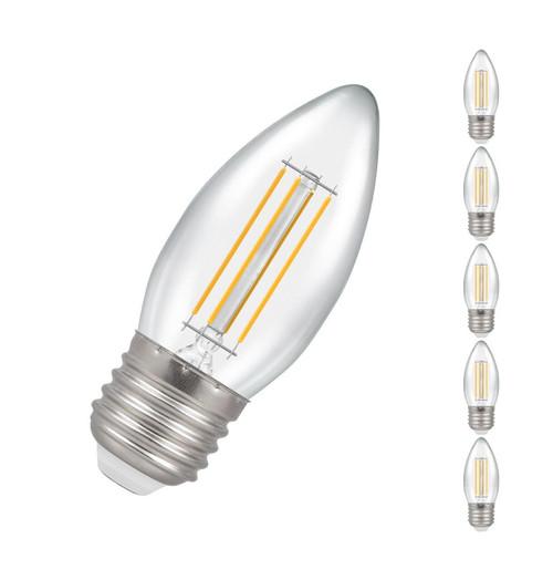 Crompton LED Candle E27 5W Dim (5 Pack) 2700K 7154 Image 1
