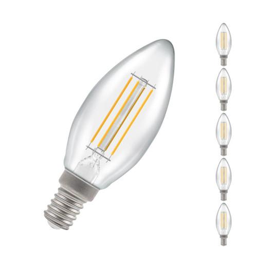 Crompton LED Candle E14 5W Dim (5 Pack) 2700K 7161 Image 1