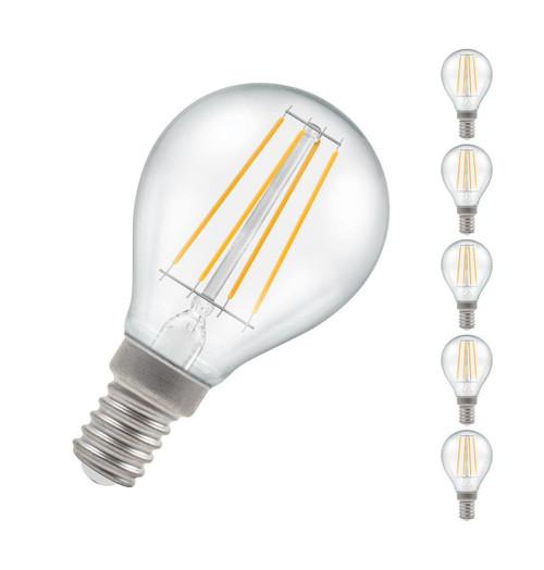 Crompton LED Golfball E14 5W Dim 2700K 7246 Image 1