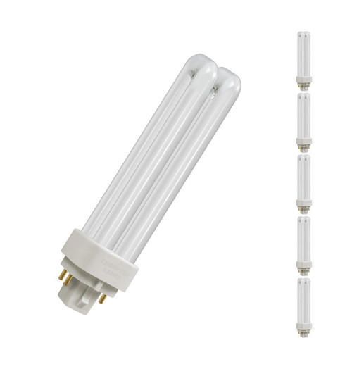 Crompton CFL PLD-E 4-Pin 13W Dim White CLDE13SW Image 1