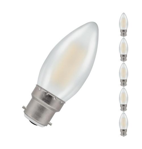 Crompton LED Candle B22 5W Dim 2700K 7178 Image 1