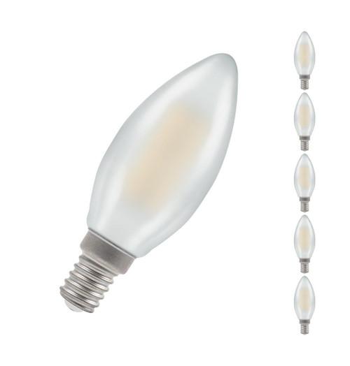 Crompton LED Candle E14 5W Dim 2700K 7208 Image 1