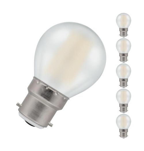 Crompton LED Golfball B22 5W Dim 2700K 7253 Image 1