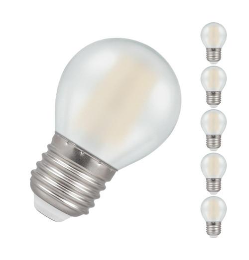 Crompton LED Golfball E27 5W Dim 2700K 7277 Image 1