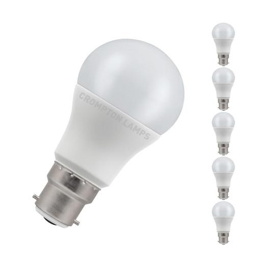 Crompton LED GLS B22 8.5W 2700K 11717 Image 1