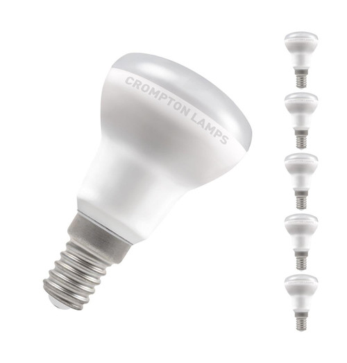 Crompton Lamps LED 3W R39 Reflector E14 Warm White 110° Opal Image 1